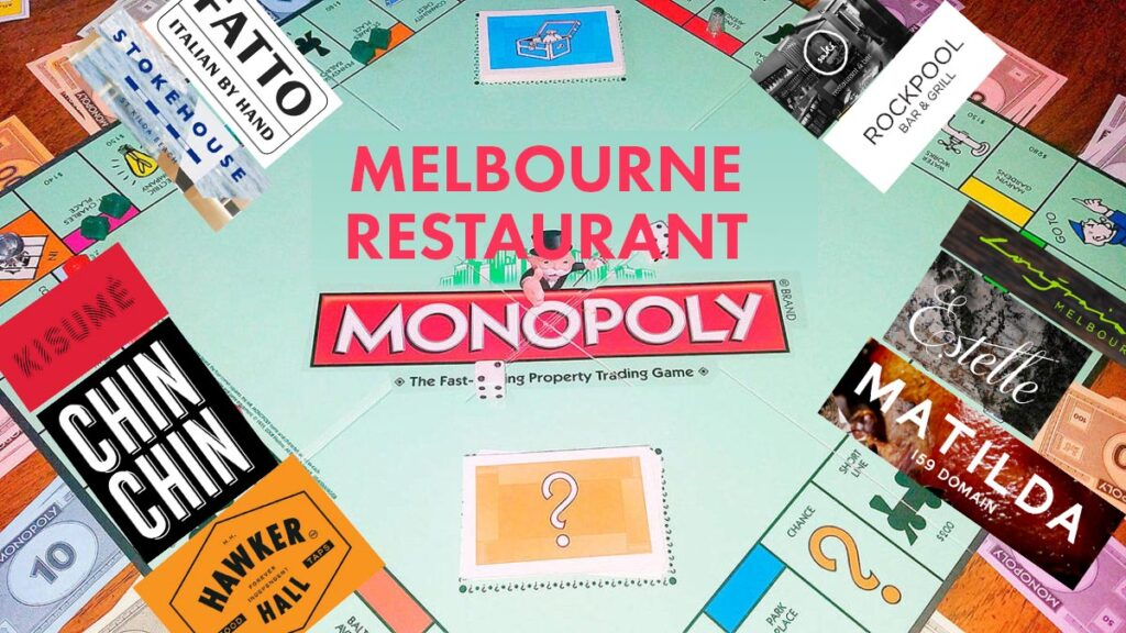 Melbourne's inner-city restaurant scene, with the emergence of dominant corporate groups, is starting to resemble a game of Monopoly.